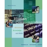 Aie-Human Communication : Motivation, Knowledge and Skills, Morreale and Spitzberg, 0495092460