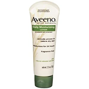 AVEENO Active Naturals Daily Moisturizing Lotion 2.50 oz(Pack of 6)
