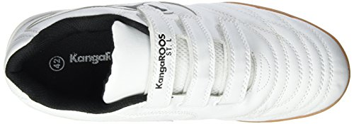 KangaROOS Herren K-Yard 3021 B V Low-Top Weiß (white/black)
