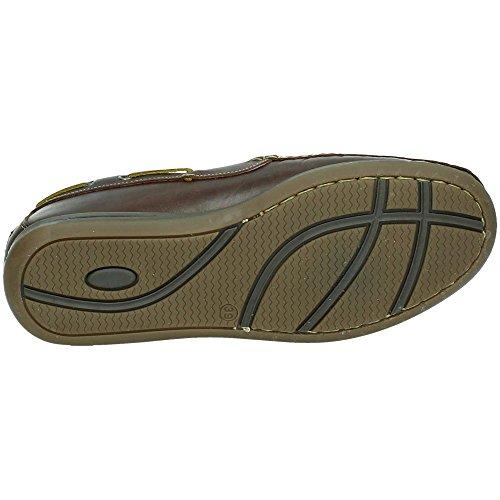 Lacets Riverty Homme De Marron Chaussures Pour Ville À qv4OvSw