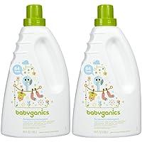 Babyganics 3X Laundry Detergent - Fragrance Free - 64 oz - 2 pk