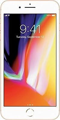 Apple iPhone 8, Fully Unlocked, 256GB - Gold (Refurbished)