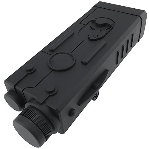 SportPro Polymer MP5 PEQ Style Dummy Battery Box for AEG Airsoft – Black