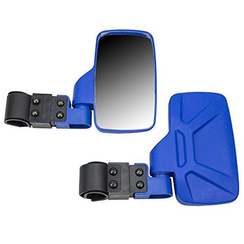 8TEN Blue Offroad Break-Away Side View Mirror Set for UTV Side x Side Utility Vehicle w/ 1.75