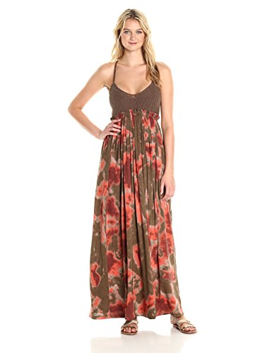 Jessica Simpson Women's Paley, Burnt Olive Tie Dye, XS
