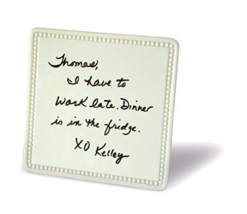 Place Tile Designs Dry-erase Ceramic Beaded MessageTile Message Board