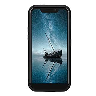 ASHATA 2G + 16G 4G Smart Phone Military Outdoor IP68 Waterproof Three-Anti 4G Smartphone with 5000mAh Large Capacity Battery, Support Double Card Dual Standby Mode(US)