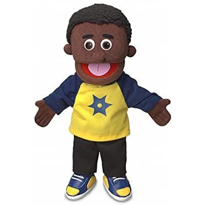 "14"" Jordan (African) by Silly Puppets"
