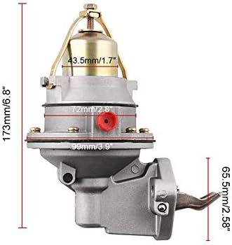 Moligh doll Mechanical FUEL PUMP 3854858 42725A3 for MerCruiser MERCURY MARINE 3.0L 2.5 PENTA