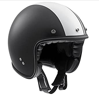Casco Jet AGV RP60 Royal talla XS, 53 – 54, colores blanco y negro