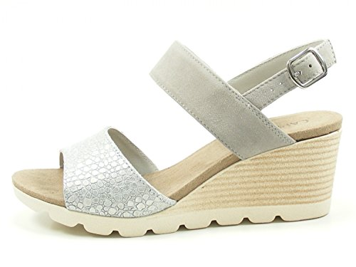 Caprice 9-28701-20 Womens Sandals Grau XTTAa