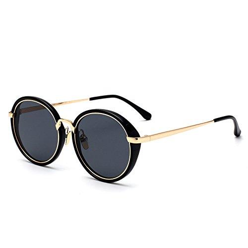 GCR Sonnenbrille Schatten Polarisierende Brille Netzwerk-Kamera Runden Harajuku Dünnere Gesichtern Der Algenblüte Sonnenbrillen , C
