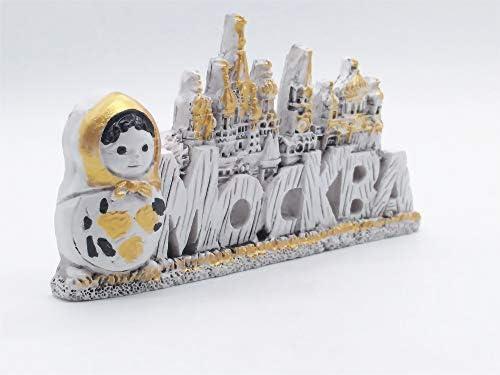 MUYU Magnet Imán para Nevera con diseño de Moscú Rusia 3D, Regalo ...