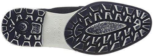 Hombre de para Dark 322403011500 4100 Derby Bugatti Azul Blue Cordones Zapatos EYwUggTqP
