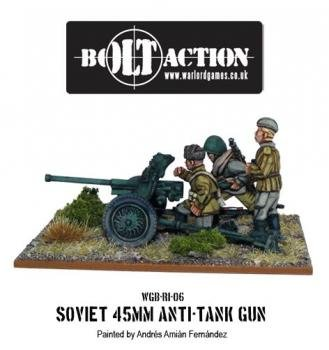 Bolt Action: Soviet 45mm Anti Tank ()