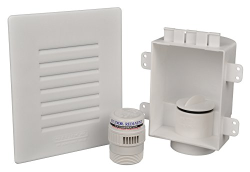(Studor 20381 Low-Profile Recess Box with Grille and Redi-Vent)