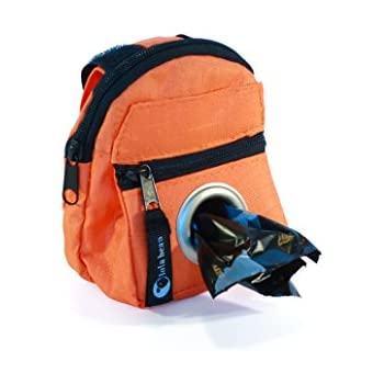 Amazon.com: Perro bolsa de color naranja dispensador de ...