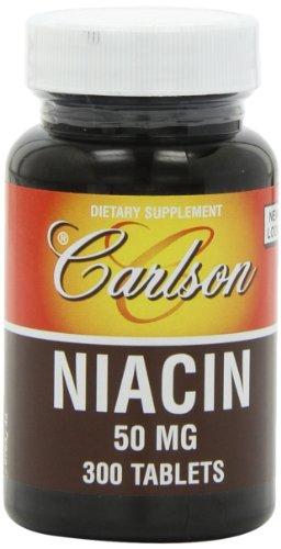 Carlson Labs Niacin 50mg Tablets product image