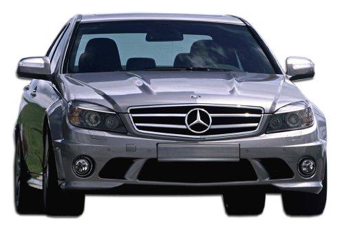 Duraflex ED-ODC-268 C63 Look Front Bumper Cover - 1 Piece Body Kit - Fits Mercedes C Class 2008-2011