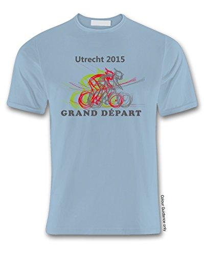 de 360 azul manga hombre para gris corta Ciclismo Camiseta ZHOnwqxax