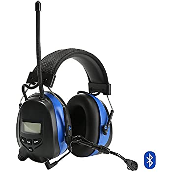 Protear hearing protector with bluetooth and mp3amfm digital protear hearing protectorbluetooth 43 and mp3 compatible with amfm digital radio stopboris Gallery