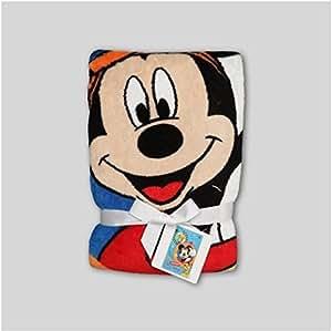 Amazon Com Baby Mickey Mouse Blanket Disney Baby Mickey
