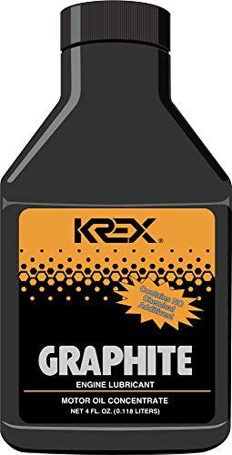 Krex Graphite Engine Lubricant 4 Fl. Oz. - 6 Bottles (Best Automotive Engine Oil)
