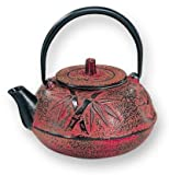 "20 oz. Red Cast Iron ""Purity"" Teapot"