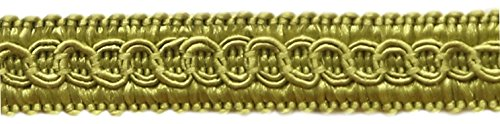 1.27cm Basic Trim Decorative Gimp Braid, Style# 0050SG Color: CELEDON Green - G6, Sold by the Yard (1 Yard = 91cm / 3ft / 36