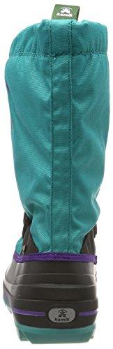Neige Sarcelle de Mixte Waterbug8g bleu Turquoise Kamik Tea Teal Enfant Bottes FTwt6pgq
