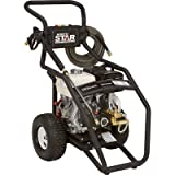 NorthStar Gas Cold Water Pressure Washer - 4000 PSI, 3.5 GPM, Honda Engine, Model# 15781520