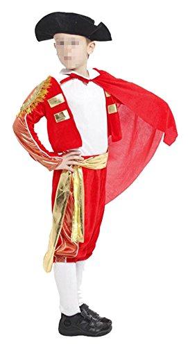 Betusline Kids Unisex Halloween Cosplay Matador Costume Dress Up & Role Play