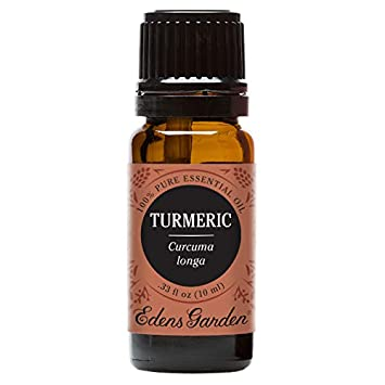 Edens Garden Turmeric 10 ml 100% Pure Undiluted Therapeutic Grade Essential  Oil GC/MS Tested