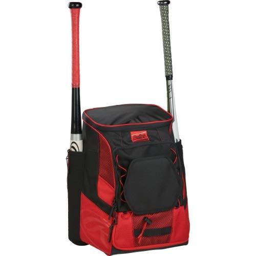 Rawlings R600 Player's Baseball Backpack Scarlet