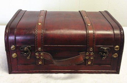 Vintage Leather Trunks - 3
