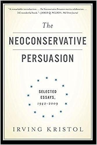 the neoconservative persuasion selected essays irving the neoconservative persuasion selected essays 1942 2009 irving kristol 9780465061914 com books