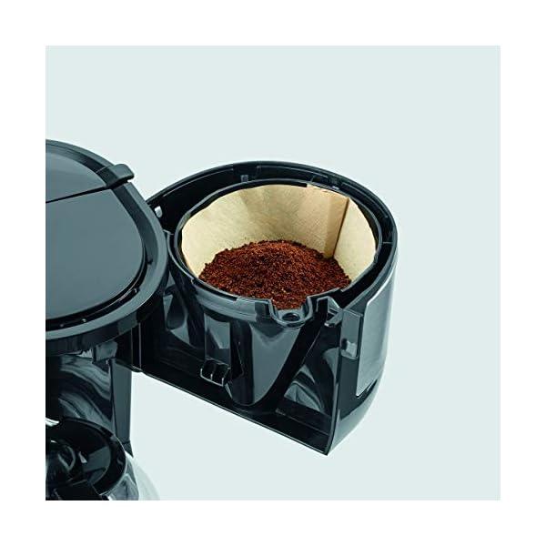 Severin KA 4808 Macchina per il Caffè, Fino a 4 Tazze, Filtro Permanente Lavabile, Filtro Oscillante, Piastra… 5