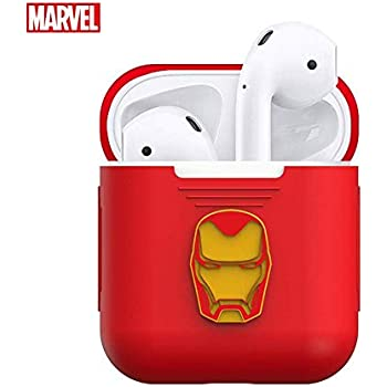 Amazon.com: Camino Marvel Avengers Iron Man Airpod Hard