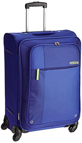 American Tourister Hugo Polyester 66cms Blue Softsided Suitcase (53W (0) 01 002)