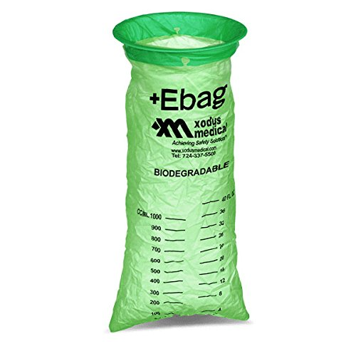 Biodegradable Emesis Bags Green