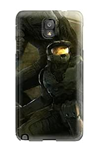 Hot Tpu Cover Case For Galaxy/ Note 3 Case Cover Skin - Halo