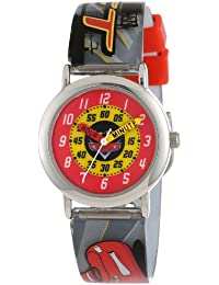 Cars Kid's CRS327 Time Teacher Analogue Watch