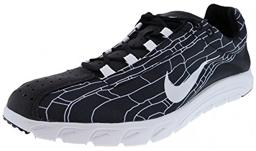 Nike Hommes Chaussures De Course Mayfly, Noir Blanc