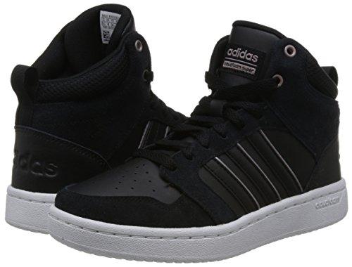 Grmeva Femme Adidas negbas 000 W Negbas Noir Superhoops De Fitness Chaussures Cf Mid aqgCawR