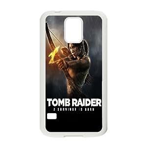 Character Phone Case Tomb Raider Lara Croft For Samsung Galaxy S5 NC1Q02896