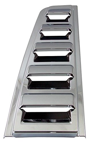 Hummer H2 Chrome Rear Upper Vent Covers – Fits the 2003, 2004, 2005, 2006, 2007, 2008, 2009 Hummer H2