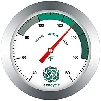 Amazon.com : Compost Soil Thermometer by Greenco, Stainless Steel ...