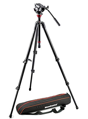 Manfrotto MVH500AH Professional Fluid Video System, Aluminum