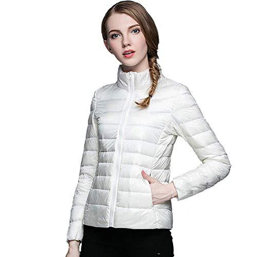 De Manteau Vestes Bas Veste Hiver Le Des Puffer Léger Xiaig Femmes Mode Respirant Doudoune Outwear La Vers Chaud Rembourrées Longue wIUxqX0O