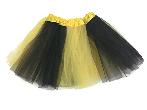 Bee Tutu Costumes (Adult Teens/ Girls/ Infant/ Baby Ballet Tutu Skirt By Mystiqueshapes (Adult, Bee))